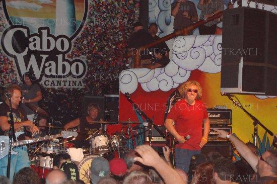 Los Cabos, México: Sammy Haggar B Bash!