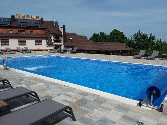 Hotel Degenija : Outdoor pool (heated)