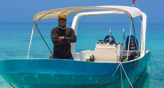 Placencia, Belize: Warren is da' man!