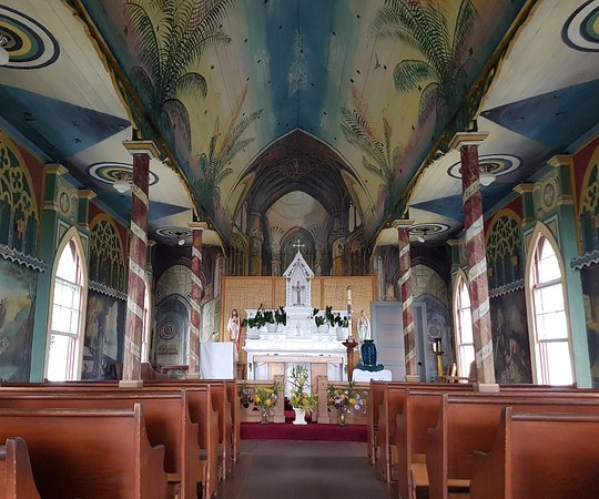 The Painted Church: Beautiful interior