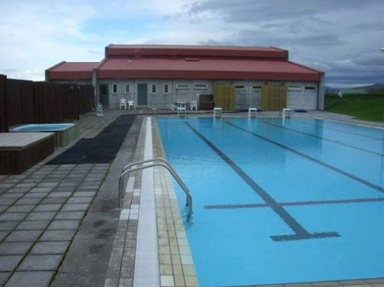 Borgarnes, Ισλανδία: Swimming pool