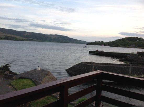 Kilmelford, UK: View from balcony