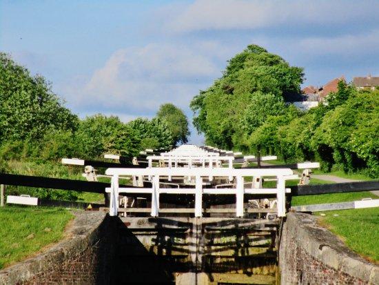 Devizes, UK: Caen Hill locks