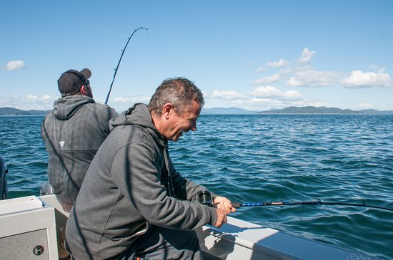 Friday Harbor, WA: Fishing in paradise