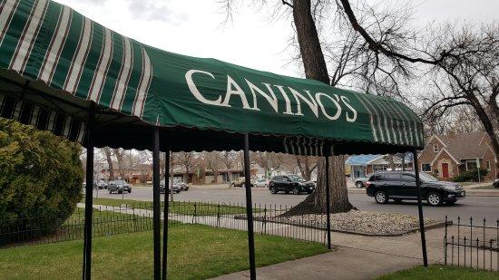 Canino S Italian Restaurant Tradition Awning