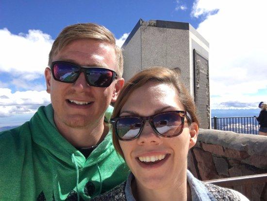 Pikes Peak: At the peak