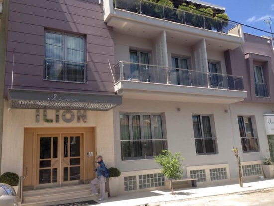 Ilion Hotel & Spa : Βλέποντας το από έξω έχεις την εντύπωση ότι θα είναι πολύ ακριβό, κάτι που δεν ισχύει.