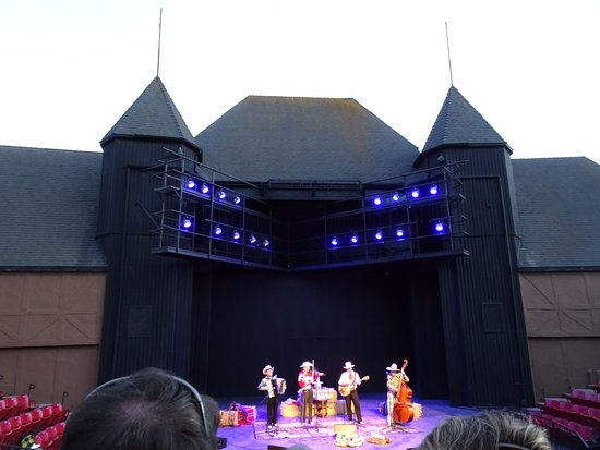 Solvang, CA: Riders in the Sky on stage