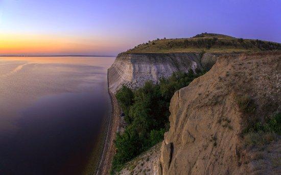 Saratov Oblast, Rusia: На краю земли