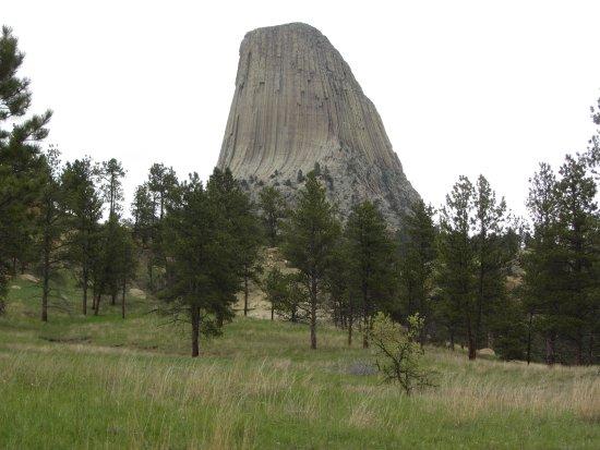 Bilde fra Devils Tower