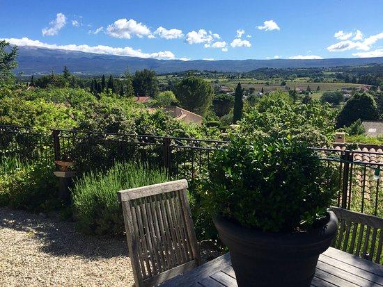 Mormoiron, ฝรั่งเศส: Prachtig uitzicht!