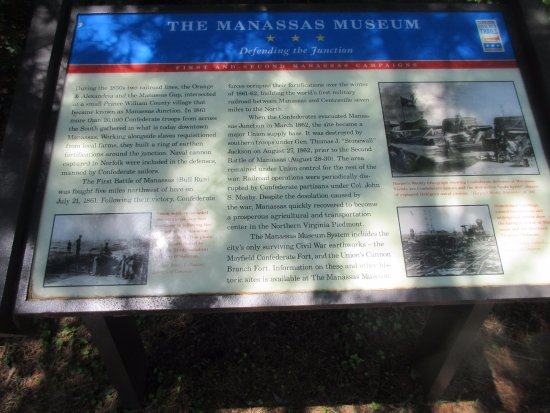 The Manassas Museum: Good information about the museum