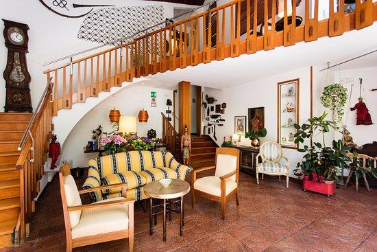 Quattro Fontane Hotel: Stting room
