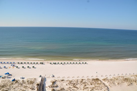 Emerald Isle: View from our balcony