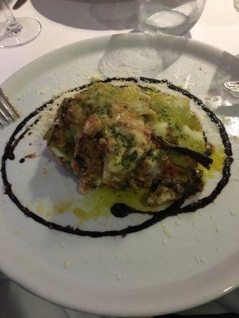 Paco de Arcos, Portugal: Fantastisk lasagne