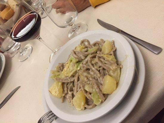 Chiuro, Italia: Pizzoccheri