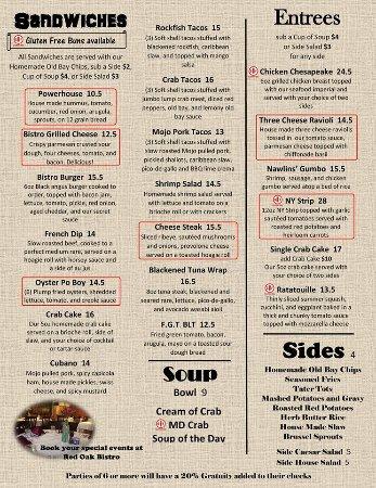 Red Oak Bistro: Dinner 2