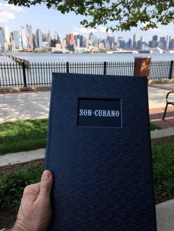 West New York, نيو جيرسي: menu card