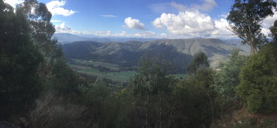Whitfield, Australia: Fantastic view over the King Valley