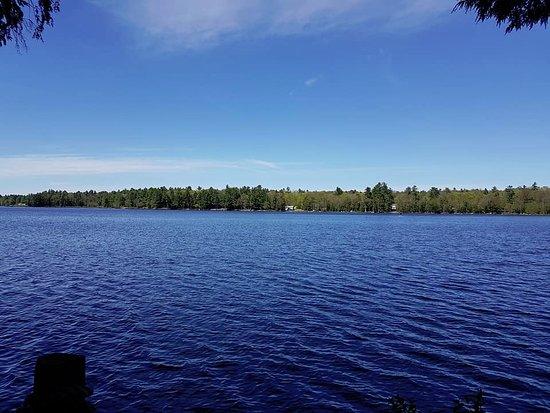 Muskoka District, Canada: dock view