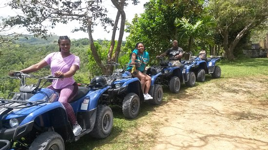 Wilderness ATV Tours : Us at the top.