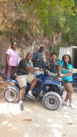 Wilderness ATV Tours : Safely back to base and extremely dusty.