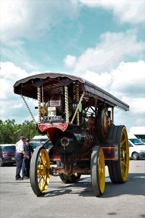 The Scarborough Fair Collection: Traction engine