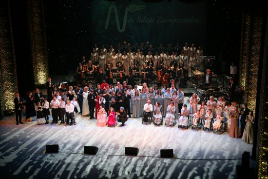 Latvian National Opera: This photo is from last Christmas charity concert in main hall of the Opera hause