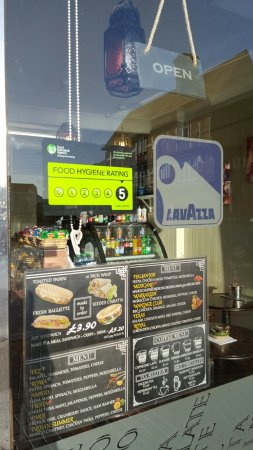 Wantage, UK: Food hygiene rating 5