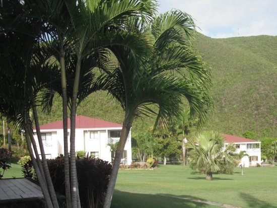 Newcastle, Nevis: Well maintained grounds.