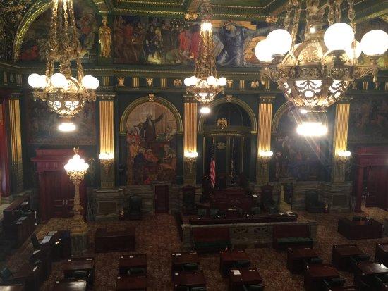 Harrisburg, PA: Senate Chambers