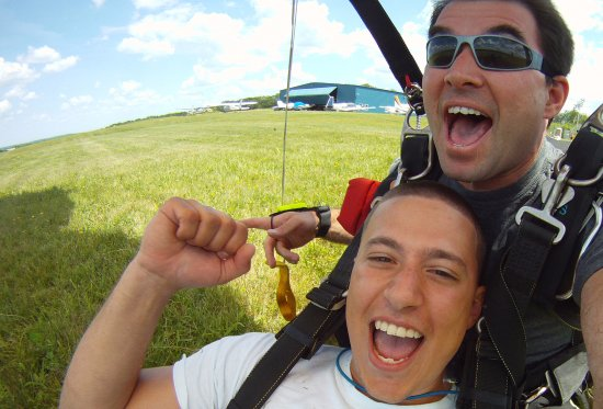 Boston Skydive Center: Yeah good times!