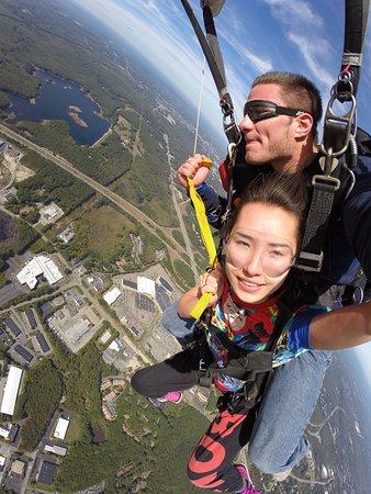 Smithfield, Ρόουντ Άιλαντ: Parachute ride