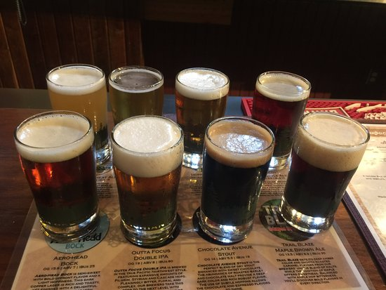 Harrisburg, PA: Beer Sampler Flight