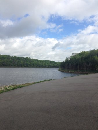 Taylorsville Lake State Park: From the boat ramp