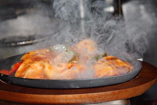 Voorhees, NJ: chicken momo sizzling
