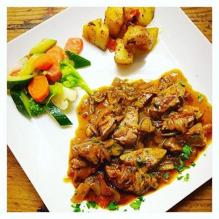 Saint-Josse-ten-Noode, Belgia: Foie de veau à la Vénitienne