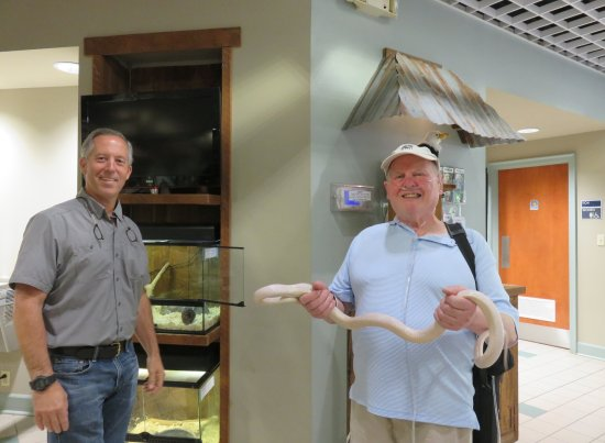 Statesboro, GA: Steve Hein with my husband, Barry