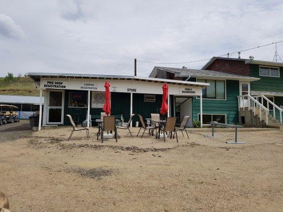 Rosebud, Canada: Clubhouse