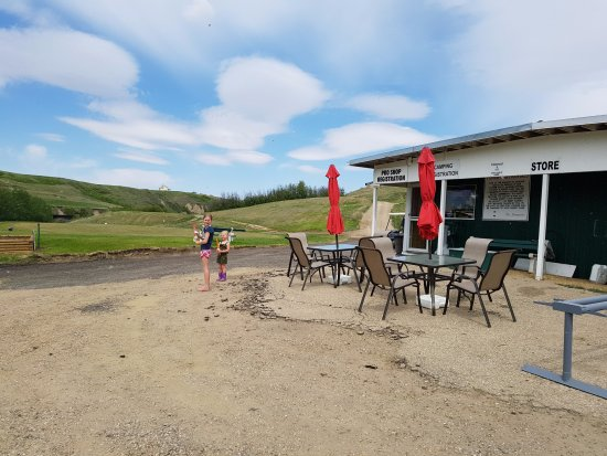 Rosebud, Canada: The clubhouse