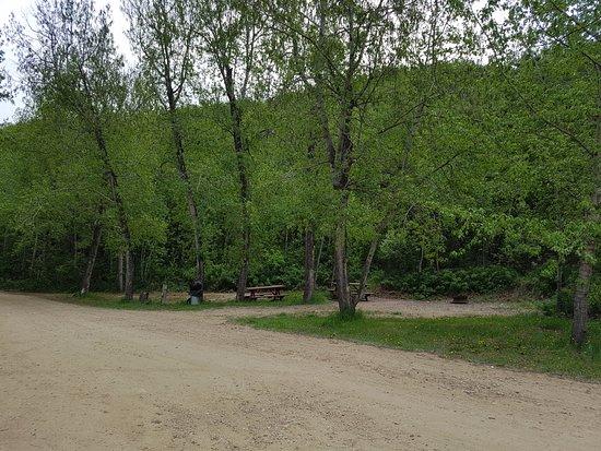 Rosebud, Canadá: campsites