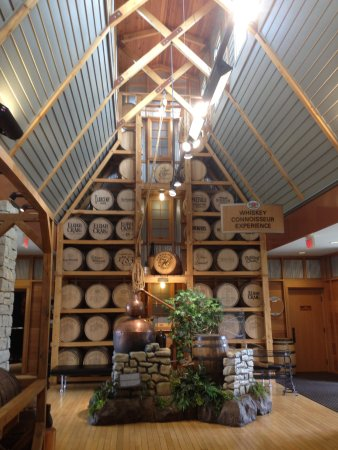 Bardstown, KY: Inside the visitor center