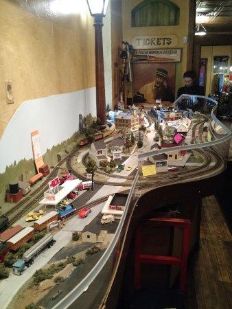 Oconomowoc, Wisconsin: Inside Train Display
