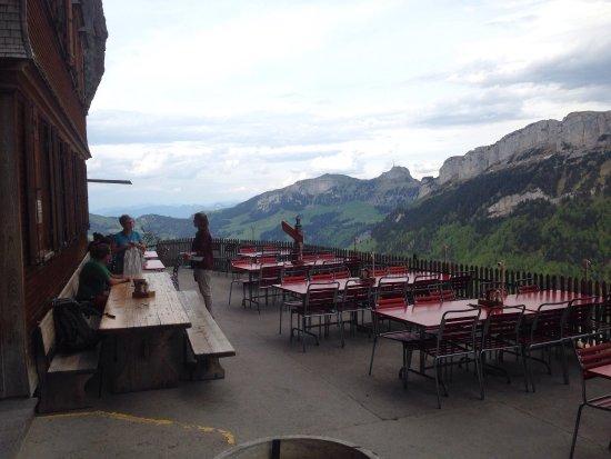 Weissbad, Suíça: Aescher, Berggasthaus