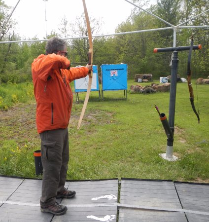 Thorold, Kanada: Really improved my archery here...fun and relazing.