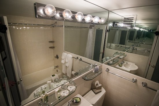 State Plaza Hotel: Bathroom