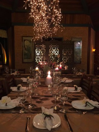 Hotel Pousada Shangri-La: jantar