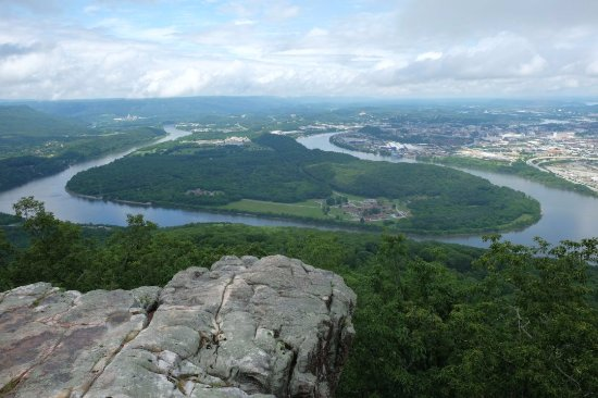 Lookout Mountain, TN : View of the Tennessee River