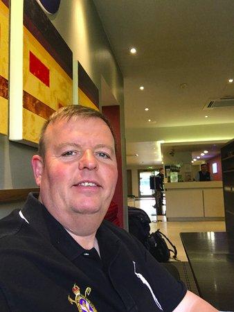 Dartford, UK: having a breakfast in the Holiday Inn