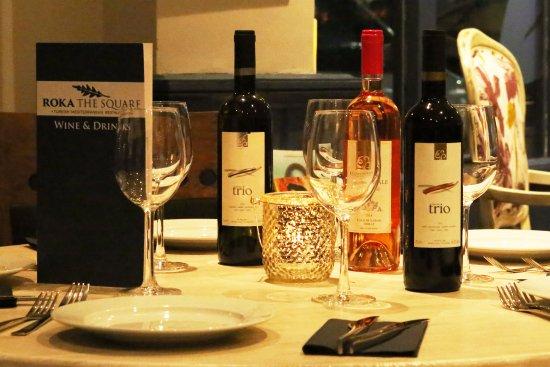 Bagshot, UK: Wine